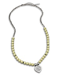 Malissa J Bead & Chain Necklace
