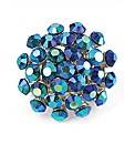 Petal Dolls Blue Crystal Ring