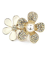 Petal Dolls Gold Flower Ring