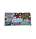 Spencer Ogg Comic Book Print Clutch Bag