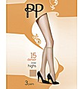 Pretty Polly 12 Pack Everyday Knee Highs