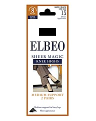 Elbeo Sheer Magic 2PP Support Hold Ups