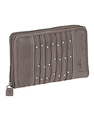 Religion Decedent Leather Purse