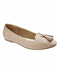 Simply Be Tassle Pumps EEE Fit