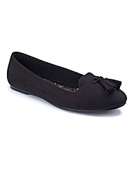 Simply Be Tassle Pumps E Fit