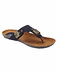 Joe Browns Toe-Post Sandals EEE Fit