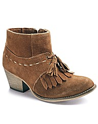 Joe Browns Tassel Ankle Boots EEE Fit