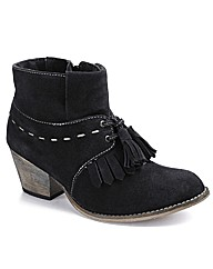 Joe Browns Tassel Ankle Boots E Fit