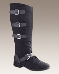 Legroom Buckle Boots E Fit Standard Calf