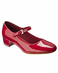 Simply Be Mary Jane Court Shoes E Fit