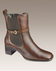 Simply Be Buckle Chelsea Boot E Fit
