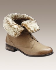 Jeffrey & Paula Fur Trimmed Boots E Fit