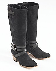 Joe Browns Hi Leg Cowboy Boots E Fit