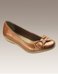 Sole Diva Bow Ballerinas EEE Fit