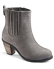 Simply Be Heeled Chelsea Boot E Fit