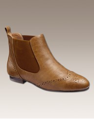 Simply Be Brogued Chelsea Boot EEE Fit