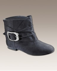 Simply Be Buckle Detail Boot E Fit