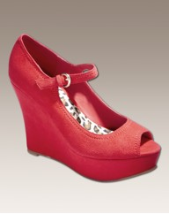 Grazia Mary Jane Wedge D Fit