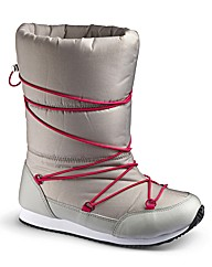 Simply Be Snow Boots EEE Fit