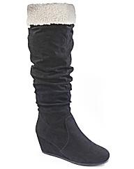 Jeffrey & Paula Shearling Boots EEE Fit