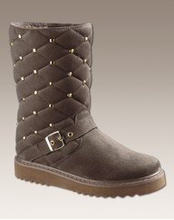 Golddigga Qulited E Fit Boots