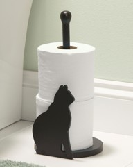 Cat Toilet Roll Holder