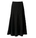 Mock Suede Skirt Length 33in