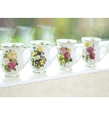 Spring Posy Bellied Mugs 4 & 4 Free