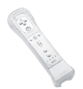 Wii Remote & Motion Plus White