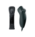 Wii Nunchuk + Remote Motion Plus Black