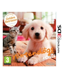 Nintendogs & Cats (Golden Retreiver) 3DS