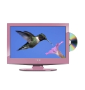 Cello 15.6in LCD TV / DVD Combi - Pink