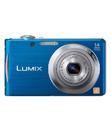 Panasonic 14MP Digital Camera Blue