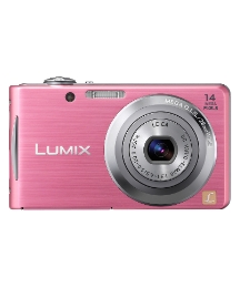 Panasonic 14MP Digital Camera Pink