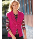 Betty Barclay Chunky Knit Waistcoat