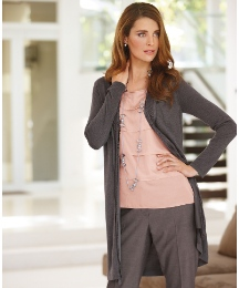 Gerry Weber Fine Knit Long Line Cardigan