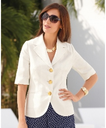 Helene Berman Short Sleeve Jacket