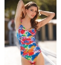 Seaspray Twist Front Swimsuit