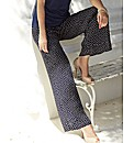Gray & Osbourn Polka Print Trousers