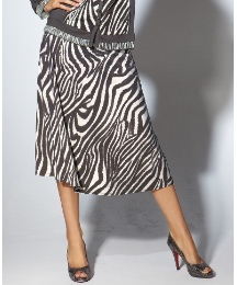 Gelco Jersey Skirt With Soft Tie Belt