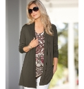Gerry Weber Pintuck Jersey Cardigan