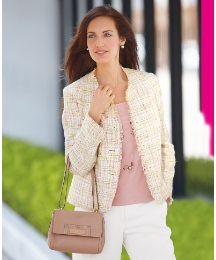 Gray & Osbourn Collarless Jacket