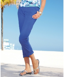 Betty Barclay Cotton Cropped Trousers