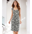 Gray & Osbourn Tiered Jersey Dress