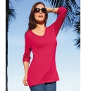 Pomodoro Slubbed Fine Knit Top