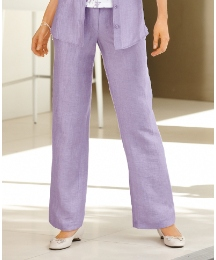 Barbara Lebek Linen Mix Trousers