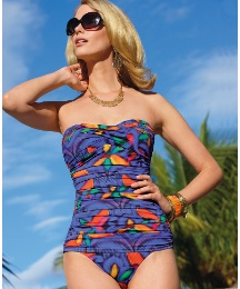Seaspray Bandeau Swimsuit