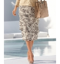 Gray & Osbourn Tiered Georgette Skirt