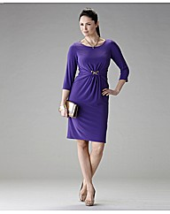 Gina Bacconi Waist Trim Jersey Dress