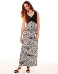 Gray & Osbourn Jersey Maxi Dress